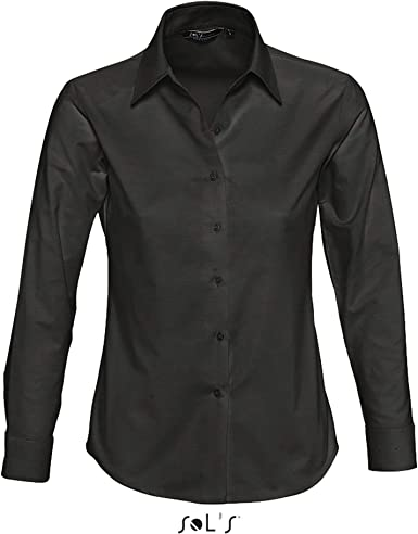 Sol s – Camisa de manga larga para mujer (Oxford Embassy ...