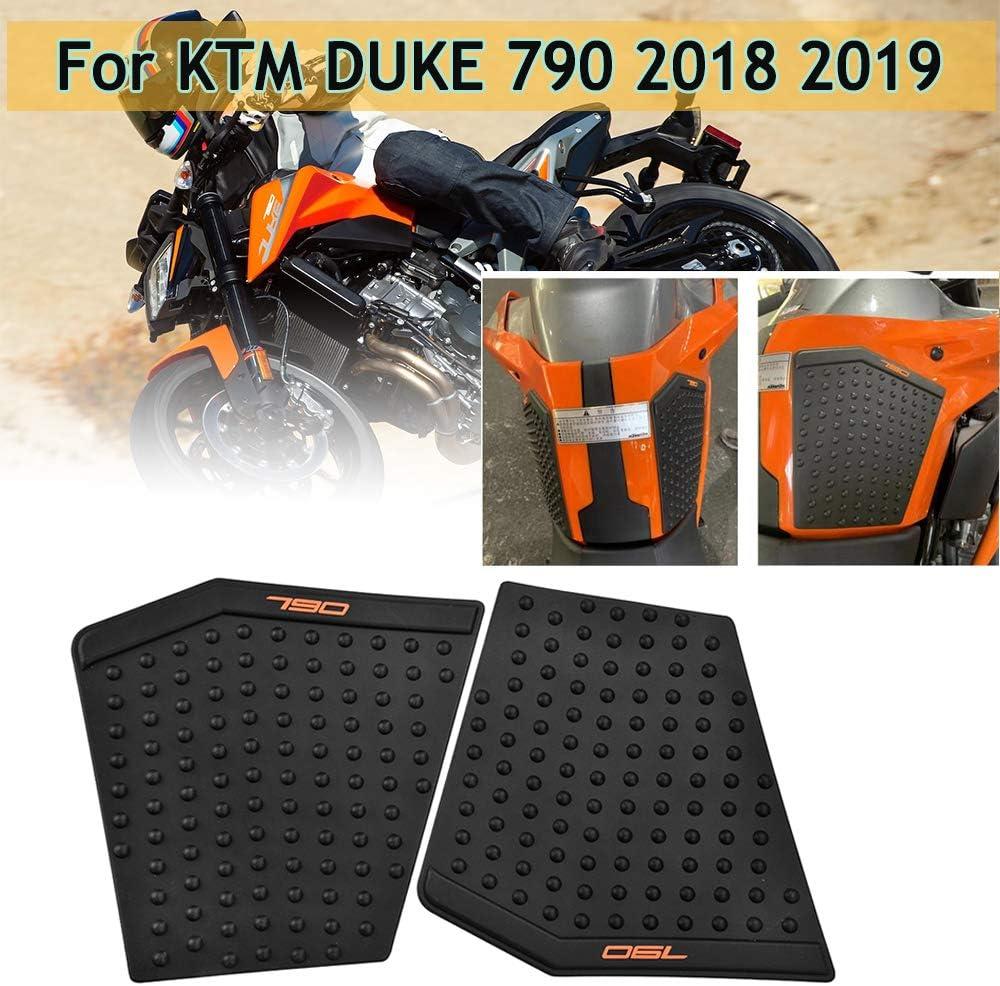 LoraBaber Motorrad Duke790 Kunststoff Beifahrersitz Verkleidung Abdeckung Motorhaube Heckabdeckung f/ür KTM Duke 790 Zubeh/ör Schwarz