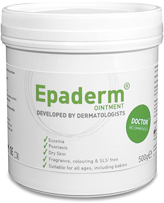 About the product EPADERM OINTMENT 1000G - TUB ECZEMA, PSORIASIS AND OTHER DRY SKIN CONDITIONS-3 IN 1 EMOLLIENT, BATH ADDITIVE AND SKIN CLEANSER - 1 KG