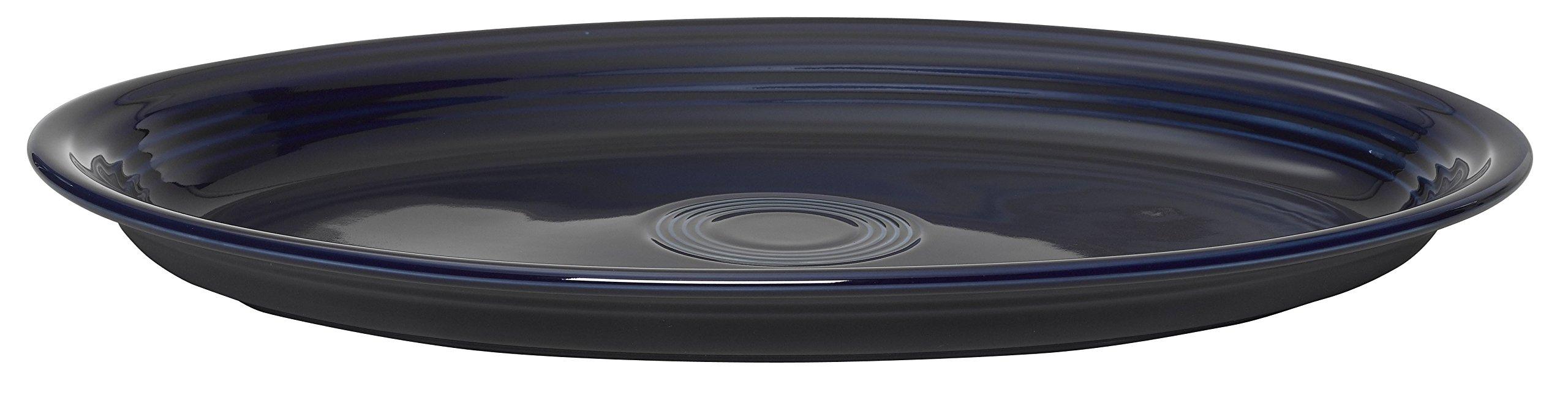 Fiesta 19-1/4-Inch Serving Platter, Cobalt