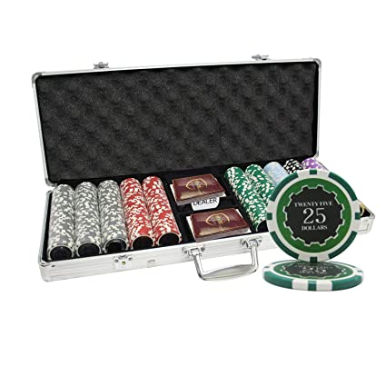 MRC 500 unidades Eclipse - Juego de fichas de poker con caja de ...