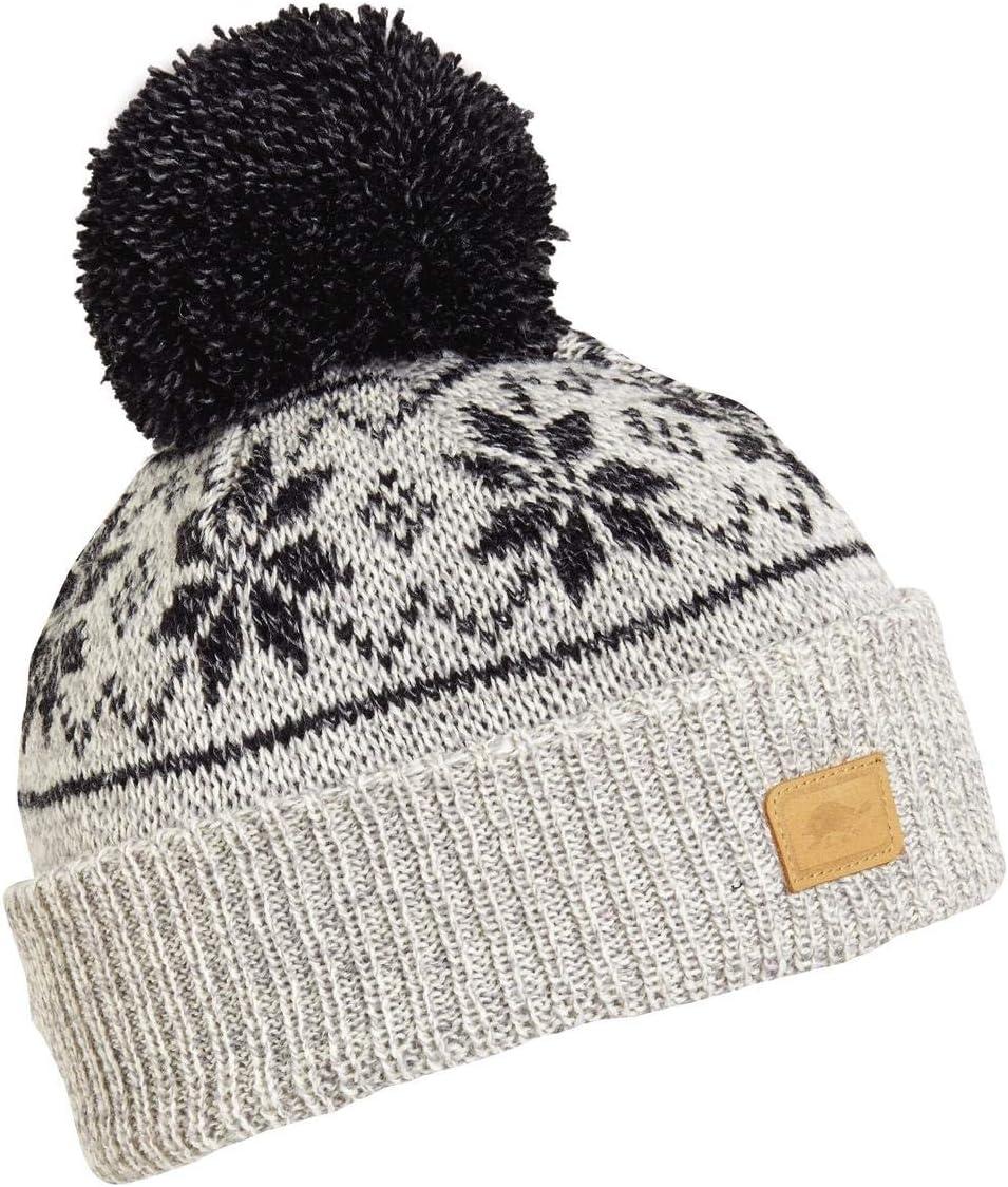 Turtle Fur Kids Boys Mount Snow Ragg Wool Knit Pom Beanie
