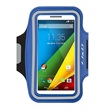 J&D Armband Compatible for Moto Z2 Play/Z3 Play/Z2 Force/Moto G7