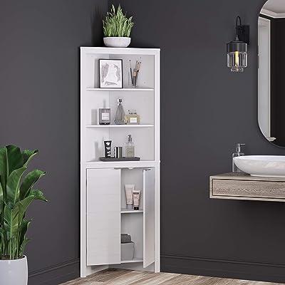 Buy Riverridge Home Madison Collection Tall White Corner Cabinet Online In Turkey B07jwxkkkv