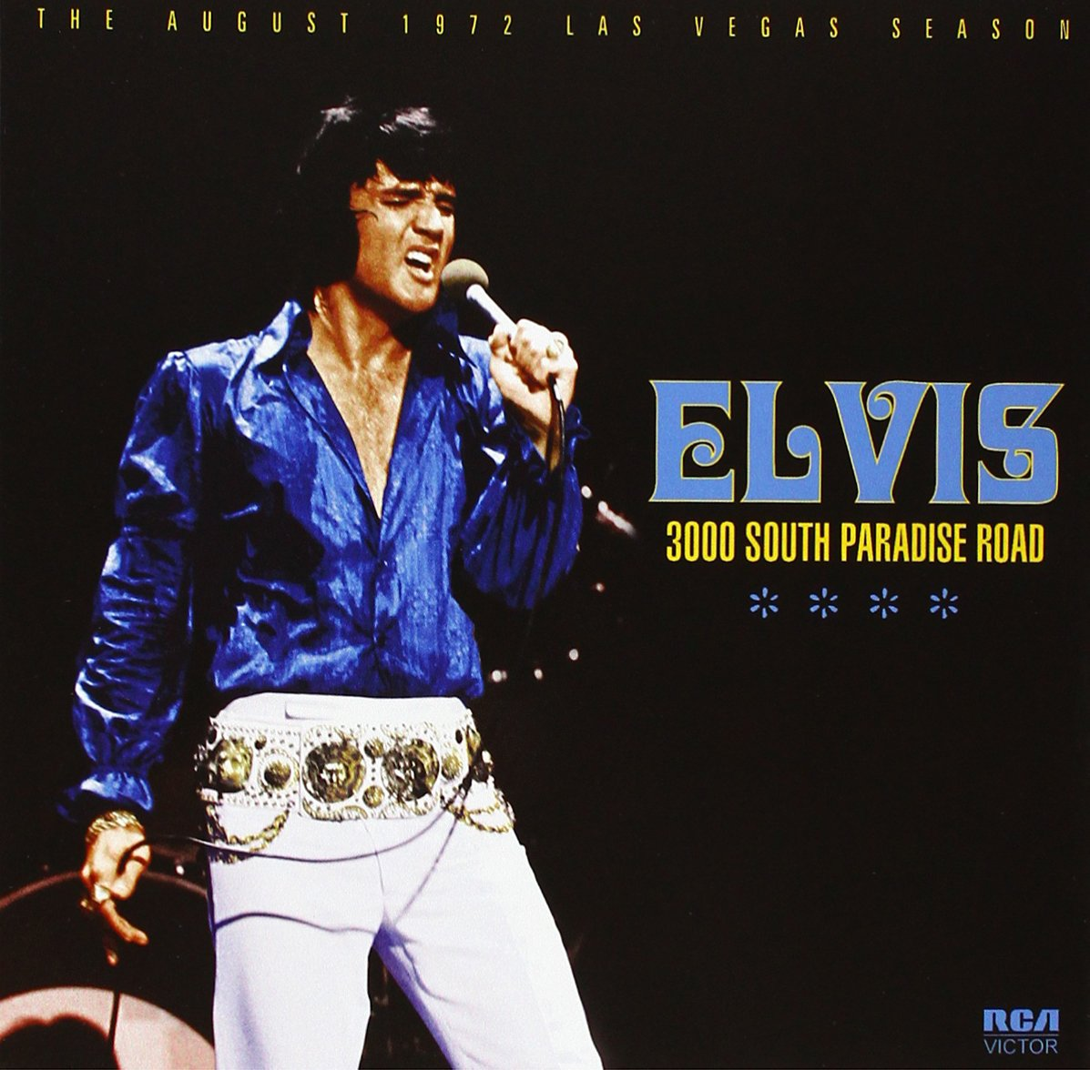 3000 South Paradise Road: The August 1972 Las Vegas Season by Sony Music / Follow That Dream Records