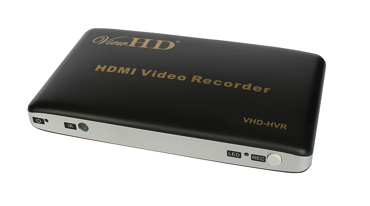 ViewHD HDMI Video Recorder | 1080P Video & Screen Photo Capture + Video & Photo Playback + Universal PAL/NTSC Conversion / Output Scaler + Remote Control | Model: VHD-HVR