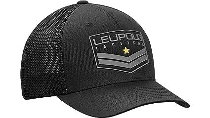 369c1bf4e08ff Amazon.com   Leupold Tactical Badge Flexfit Mesh Back Trucker Cap ...