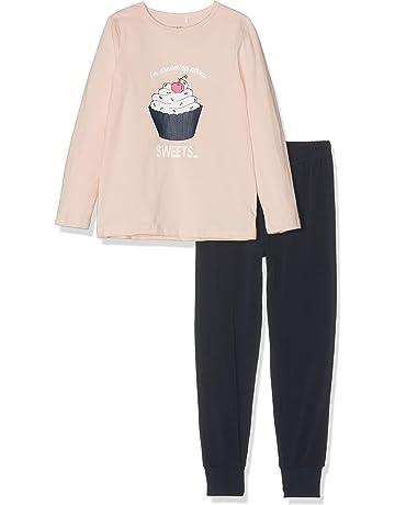 NAME IT Nkfnightset Strawberry Cream Noos, Pijama para Niñas