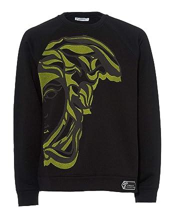c4992ab98 Versace Collection Mens 1/2 Medusa Sweatshirt: Amazon.co.uk: Clothing