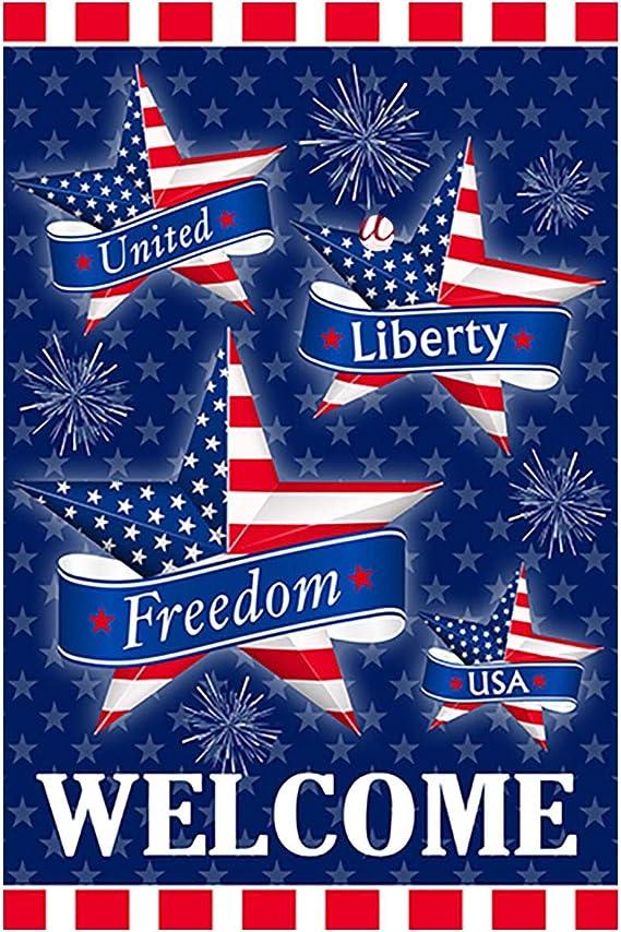 Rain Or Shine Small America Patriotic Celebrate Freedom Honor Garden Flag