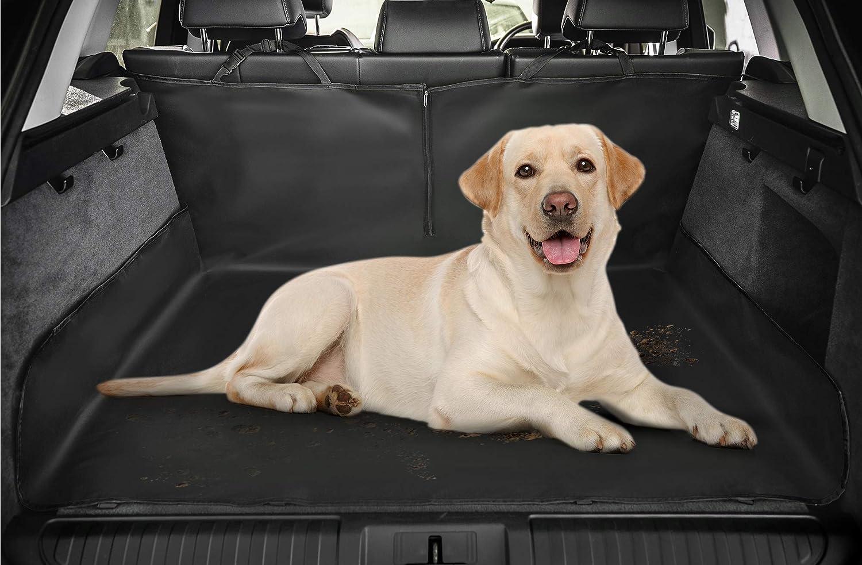 imperm/éable et de coffre 2 en 1 arri/ère de protection pour si/ège arri/ère de voiture pour chien//chat Tapis Hamac Couverture R/ésistante