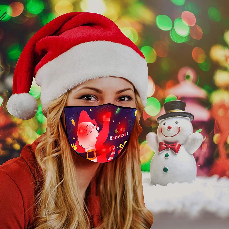 3 Piezas Masks-Mascarillas Adultos Visera Navidad
