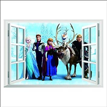 Topro Disneys Die Eiskönigin – Völlig unverfroren 3D-Wandtattoo ...