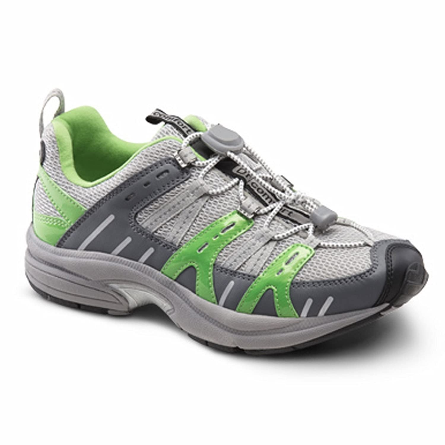 Dr. Comfort Women's Refresh Diabetic Athletic Shoes B00IO82VKC 6 M US|Lime