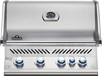 Napoleon Prestige PRO 500 Built-in Grill with Rotisserie (BIPRO500RBNSS-2), Natural Gas