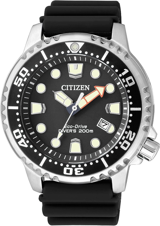 Citizen Reloj Analógico para Hombre de Cuarzo con Correa en Poliuretano BN0150-10E