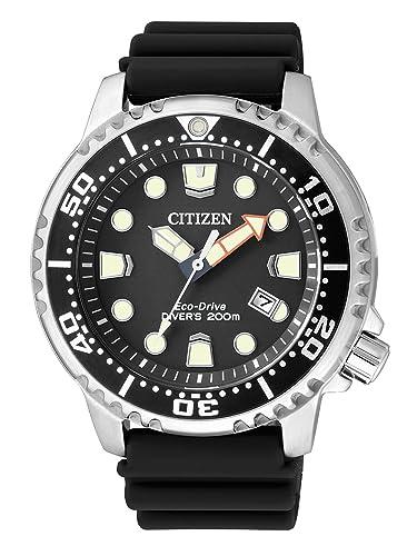 920a5f429 Citizen Men's Watch XL Promaster Marine Analogue Quartz Plastic BN0150 10E:  Citizen: Amazon.co.uk: Watches