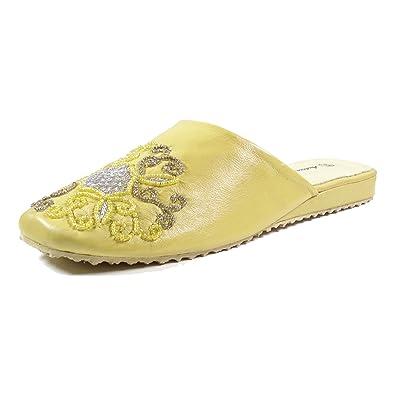 Andrea Doria 32048-180 Damen Schuhe Premium Qualität Pantoffel Gelb (gelb) [EU 38.0] SODL9Z
