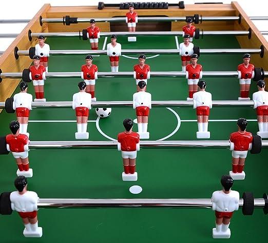 pittayadomeshop Mesas de futbolín fútbol Mesa Juego Arcade Sala de ...