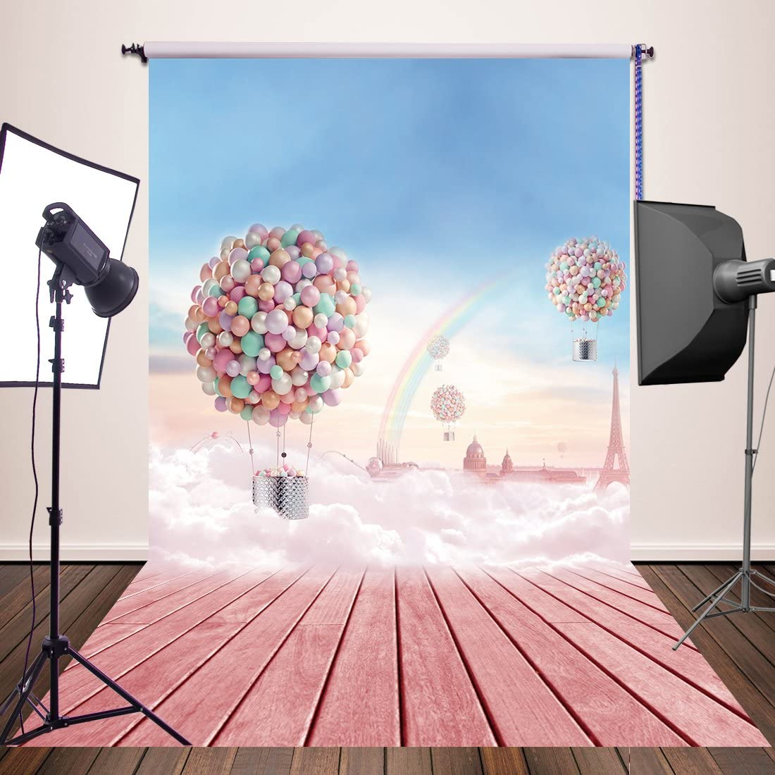 HUAYI Wood Wall Photo Backdrop Newborn Photography Background Baby Portrait Adult Photoshoot Picture Studio Props 6x8ft xt-4269