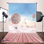 HUAYI 5x7ft Photography Backdrops Valentine's background Newborn Baby Photo Studio Props YJ-286