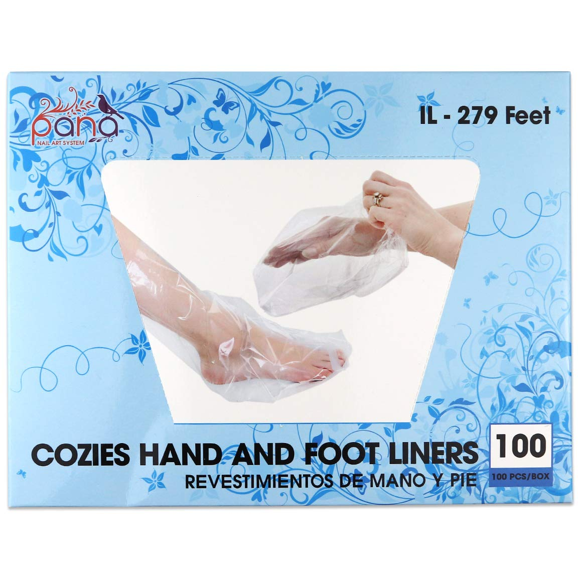 Ivy L Brand (Quantity: 200 Counts) LARGE Size for Paraffin Hand & Foot Protectors Wax Works Thermal Mitt Liner For Pro Cozie Liners Hand or Foot (Quantity: 100 Counts) Pana