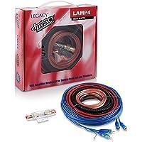 Legacy LAMP4 1600w 4 Gauge Car 12v Amplifier Amp Installation Wiring Kit