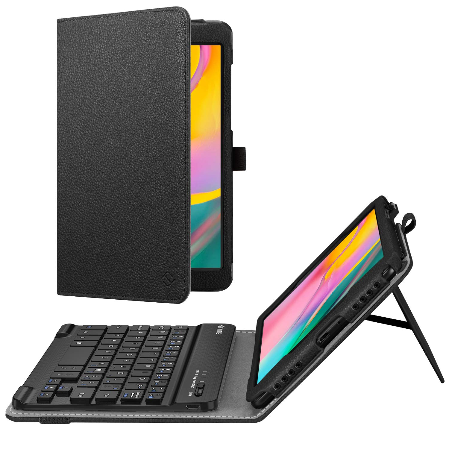 Keyboard Case Stand Cover For Samsung Galaxy Tab A 8.0