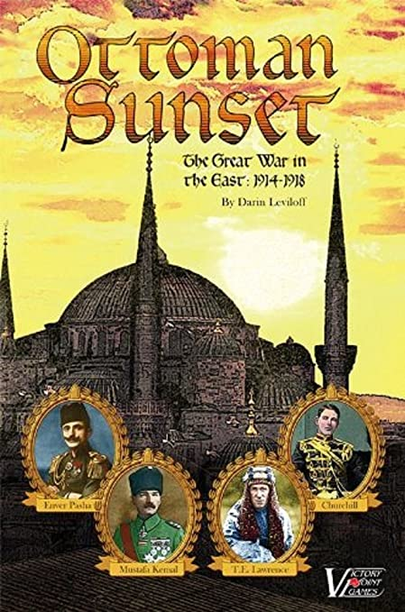 amazon com victory point games ottoman sunset the great war in the