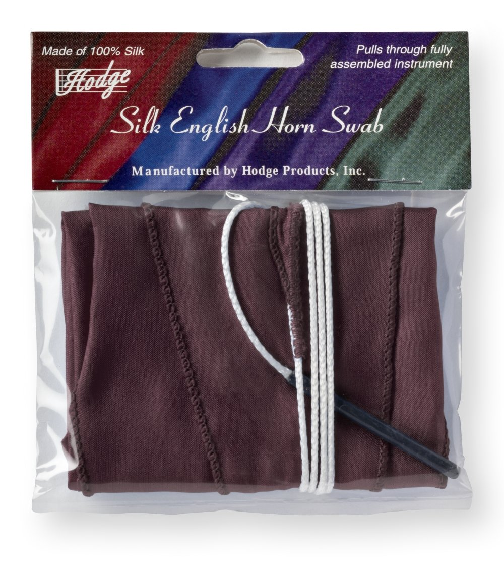Hodge Silk English Horn Swab - Burgundy Hodge Products Inc. 4336350074