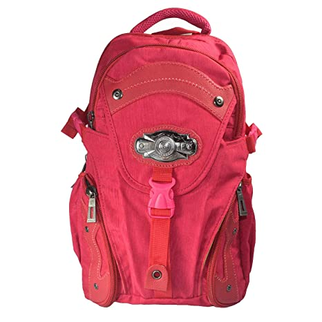 DALUCI 3 Pcs Leather Women's Backpacks Rivet Pendant Bear Women Fashion  Backpacks with Purses Pink: Amazon.in: Bags, Wallets & Luggage