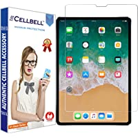 CELLBELL Tempered Glass Screen Protector for iPad Pro 11 (2018) with Installation Kit