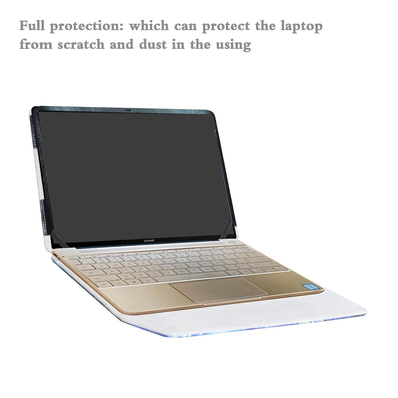 Alapmk Diseñado Especialmente La Funda Protectora de Cuero de PU para 13