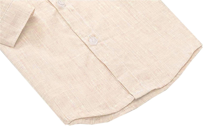Suspender Pants Plaids Shirt SANGTREE Baby /& Little Boy Tuxedo Outfit