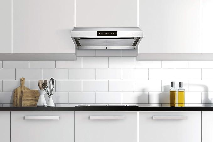 Chef Range Hood - Extractor de cocina para debajo de armario, 30 pulgadas: Amazon.es: Grandes electrodomésticos