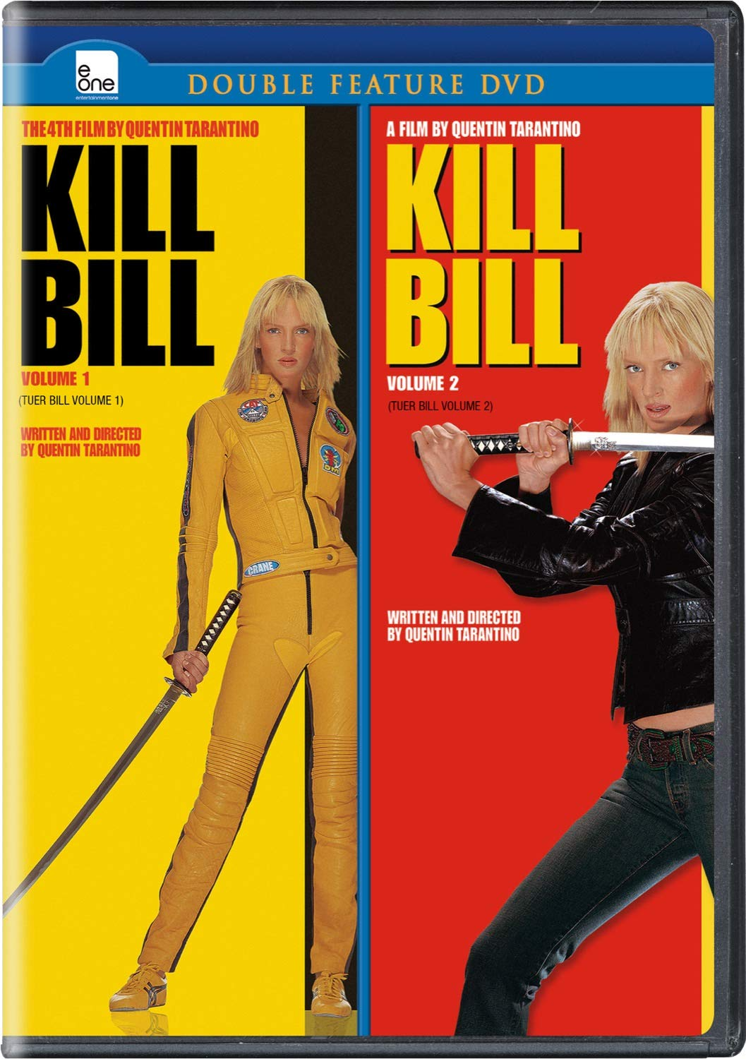 Amazon.com: Kill Bill - Volume 1 And 2 (Double Feature): Movies & TV