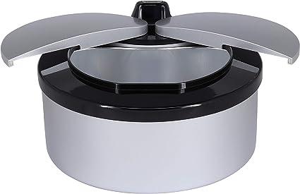 2 l con sensore di movimento contenitore automatico con sensore a infrarossi in 4 varianti di colore Pattumiera con sensore nero intelligente pattumiera da tavolo automatica TOO STC-2