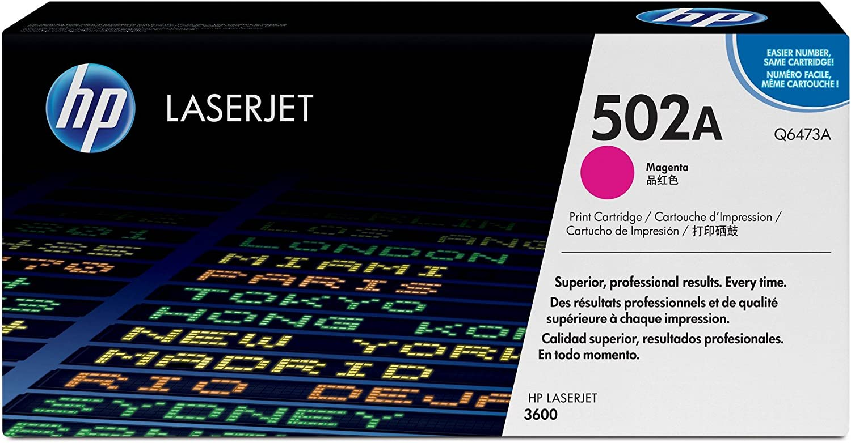 HP 502A | Q6473A | Toner Cartridge | Magenta