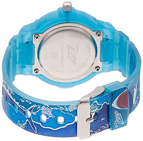 Zoop Analog Multi-Color Dial Children