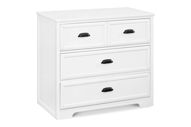 Davinci Charlie Homestead 3 Drawer Dresser, White DaVinci - DROPSHIP M16123W