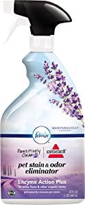 Bissell Pawsitively Clean with Febreze Pet Stain & Odor Eliminator Lavender