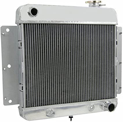 3 Row Radiator+Shroud+Fan for 1962-1967 1966 1963 Chevrolet Chevy II Nova L6//V8