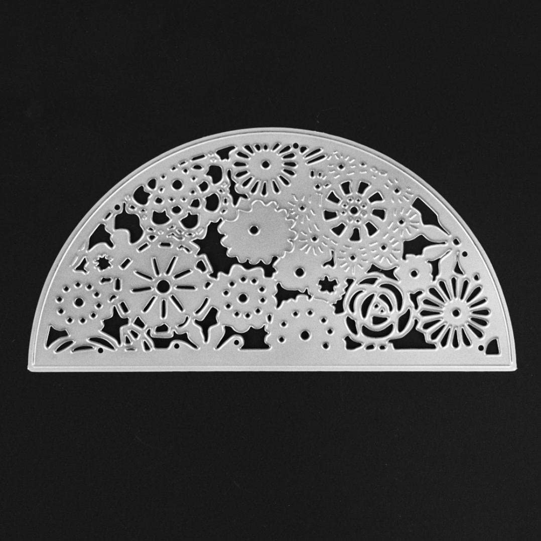 Die Cut Embossing,DIY Stencil Cutting for Making Scrapbooking Cards Metal,Dies Cutting Get Well Embossing Folders for Album Decorative Paper Crafts Animals House Cut A