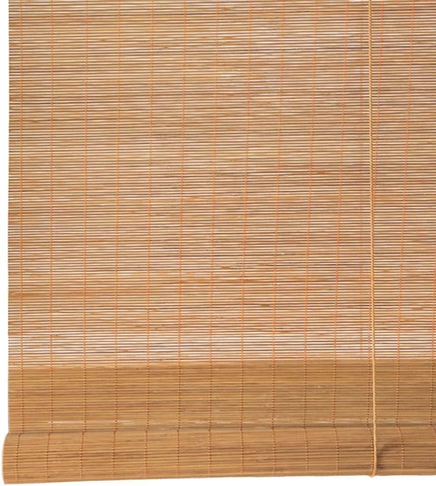 LXLA - Persiana Enrollable Grande de bambú for Exteriores - Cubierta Patio Trasero Gazebo Pérgola Balcón Patio Patio Porche Persianas for persianas, 60% de protección (Size : W150cm X H300cm): Amazon.es: Hogar