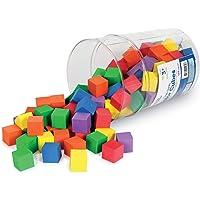 Learning Resources LER6334 Soft Foam Color Cubes (102 Piece)