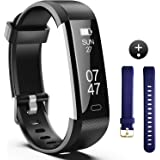 Fitness Tracker, Fitness Watch Include Replacement Band, Activity Tracker Smart Band with Sleep Monitor, Smart Bracelet Pedometer Wristband for Kids, Women and Men