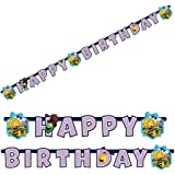 Amscan - 552357 - Guirlande Happy Birthday Maya l'Abeille - 180 x 15 cm