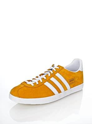 Actor intencional salvar  adidas gazelle mostaza