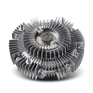 A-Premium Engine Cooling Fan Clutch for Toyota 4 Runner 1996-2002 Tacoma 1995-2004 Tundra T100 Honda Passport Acura SLX Isuzu Rodeo Trooper