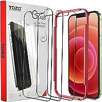 TOZO Compatible for iPhone 12 Pro Max Screen Protector Deals